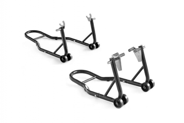 Basic motorcycle assembly stand set