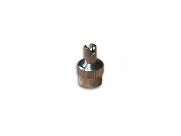 Bouchon de valve métallique avec outil