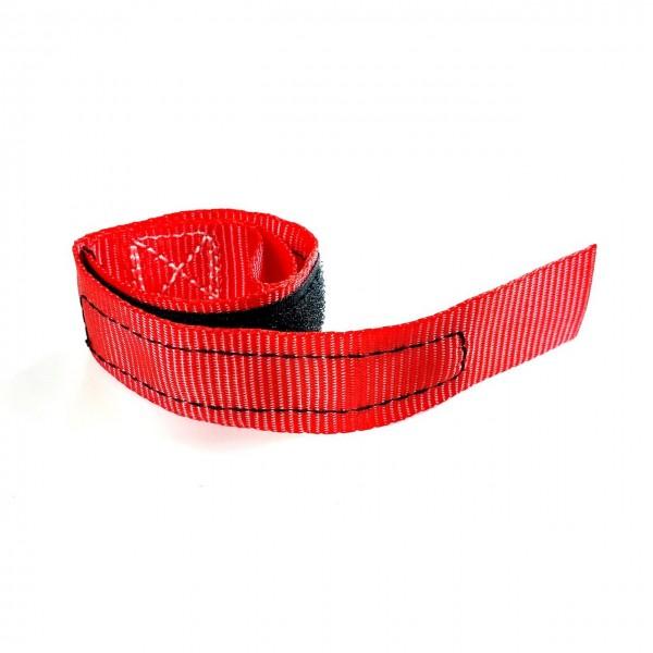 Safety belt, brake lever fixation