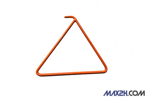 Dreieckständer, orange