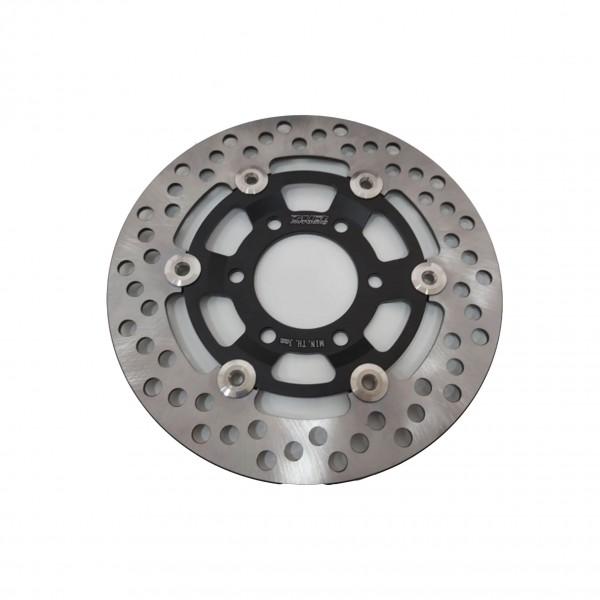Bremsscheibe, vorne, 220 mm, schwimmend, 6 Loch